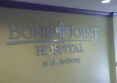 St. Anthony Hospital Sign