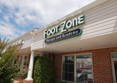 Foot Zone Sign Example