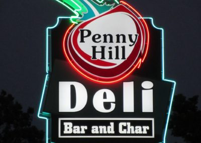 Penny Hill night