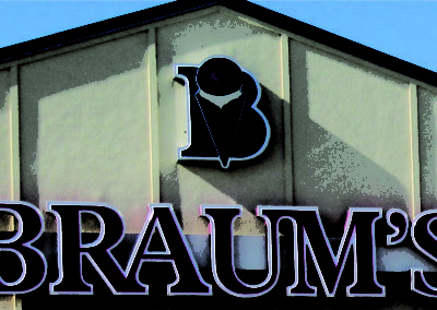 braums bldg sign